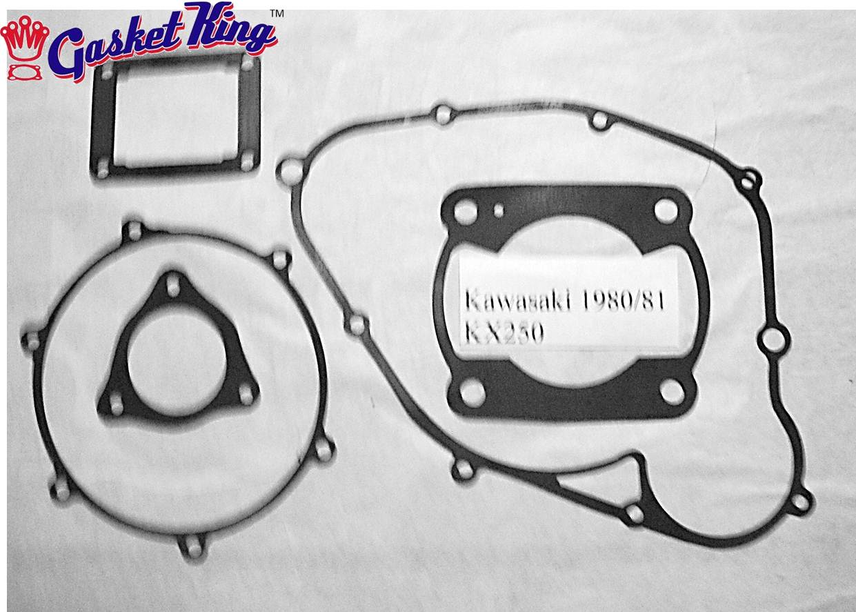 Kawasaki Kx250 Gaskets 1980 81 Wiring Harness