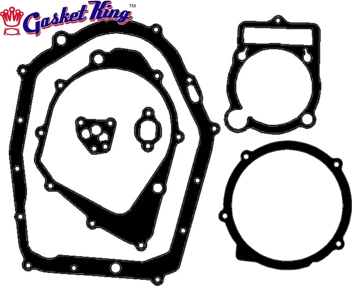 Yamaha 350x Warrior Gaskets 1987 04 on Honda Motorcycle Gaskets