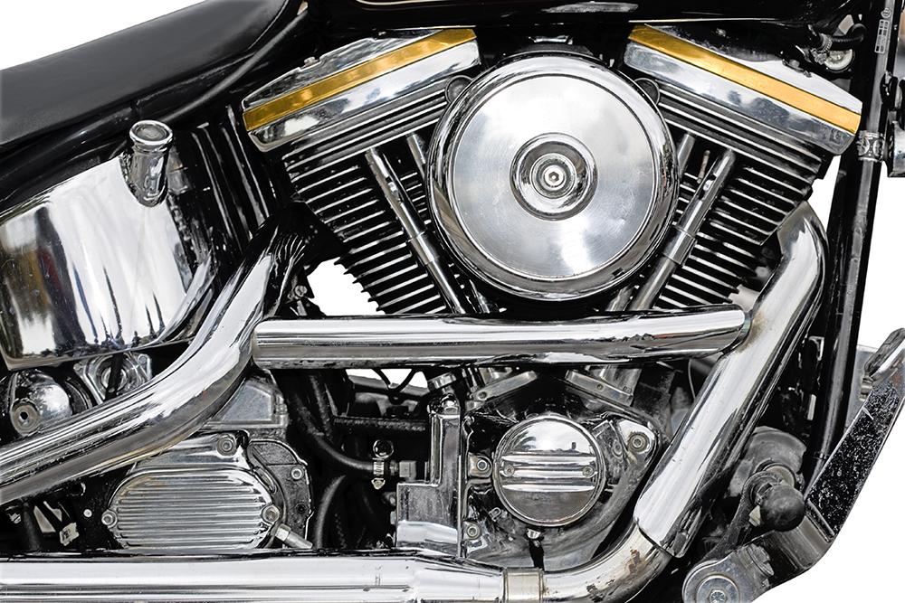 motorcycle engine chrome gasket replace cooling fins tips motor royalty helmet eyed wide king dreamstime